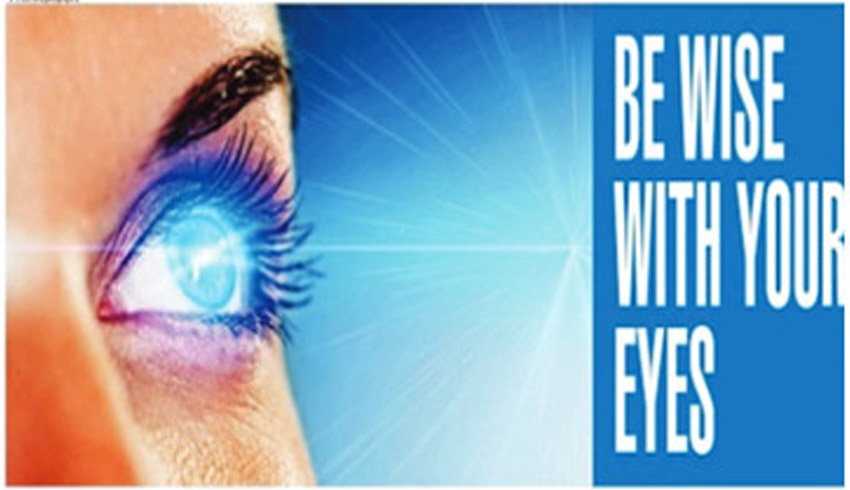 Be wise with your eyes