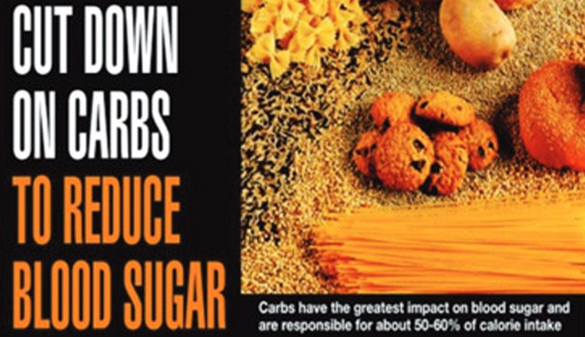 Cut Down on Carbs to Reduce Blood Sugar